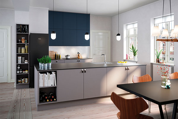 AUBO Køkken & Bad har lanceret en helt ny serie af smukke og funktionelle fronter til køkken og bad. Serien har fået navnet AUBO UNIK.