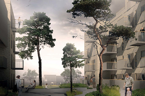Den jyske entreprenørvirksomhed har igen vundet en stor hovedentreprise på Sjælland. Denne gang er det den tidligere slagterigrund, Vølunden, i Holbæk, hvor der skal bygges 93 almene boliger.