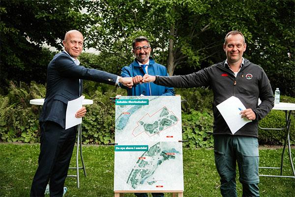 En ny folkeskov med over 30.000 træer og lysåben natur ved Tilst kun få kilometer fra centrum i Aarhus ser snart dagens lys.