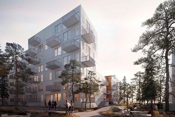 Ejendomsudviklingsfirmaet Calum påbegynder nu opførelsen af 64 lejligheder i Køges Søndre Havn, få hundrede meter fra stranden. De nye lejligheder skal både tiltrække unge og ældre beboere.