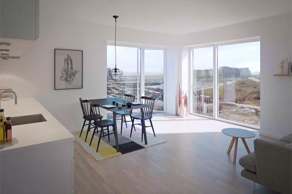 Det svenske ejendomsselskab Heimstaden har gennem sit danske datterselskab Heimstaden Danmark A/S, investeret i 55 attraktive lejligheder i Skovkvarteret - i Ørestad Syd.