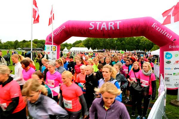 Det er med hele ti løbsdatoer i ni byer, når femina Kvindeløb i maj og juni i år fejrer 20-års jubilæum, hvor man forventer 20.000 deltagere til det traditionsrige løb.