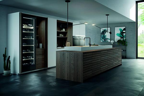 En eksklusiv vinøs nyhed er essentielt i Svane Køkkenets 2018-kollektion, som emmer af nordisk råstyrke og maskuline stemninger med sit mørke designudryk.