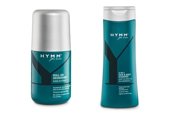 HYMM™ er en ny herreproduktserie med botaniske ingredienser til manden, der finder tid til at passe på sin krop og har brug for en simpel, men lækker daglig rutine efter træning.