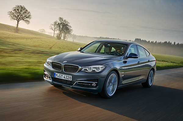 BMW 3-serie Gran Turismo er den bedst sælgende BMW 3-serie i Danmark i 2016. Fra juli måned bliver modellen opdateret med forskellige designdetaljer udvendigt og indvendigt. Samtidig bliver motorprogrammet opdateret med endnu mere brændstoføkonomiske og effektfulde benzinmotorer.