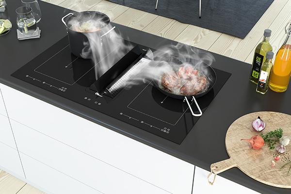 Helt ren luft i køkken og bolig med Thermex Le Mans II emfang og Plasmex filter-teknologi.