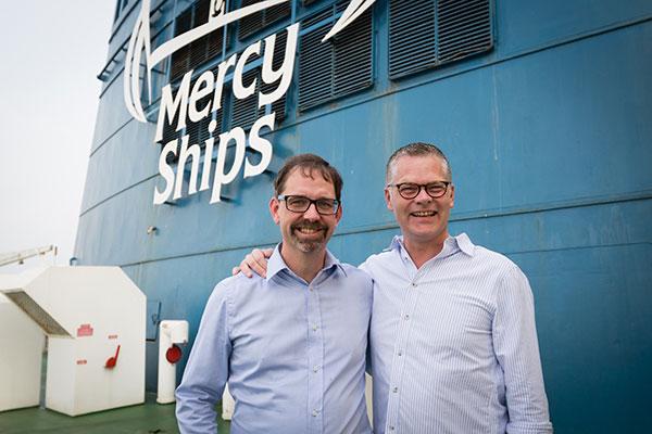 Rederiet Stena Line indgår samarbejde med velgørenhedsorganisationen Mercy Ships. Planen er blandt andet, at rejsende på Stena Lines færger skal opfordres til at gøre en forskel.