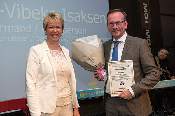"""VisitAarhus er i dag blevet tildelt Danske Rejsejournalisters """"Havfruepris"""" for organisationens fokus på kultur i deres markedsføring af Aarhus og Region Midtjylland."""